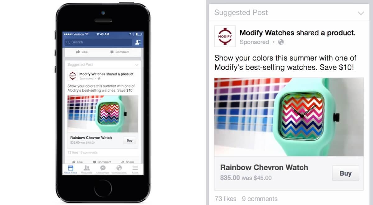 Facebook Buy Button