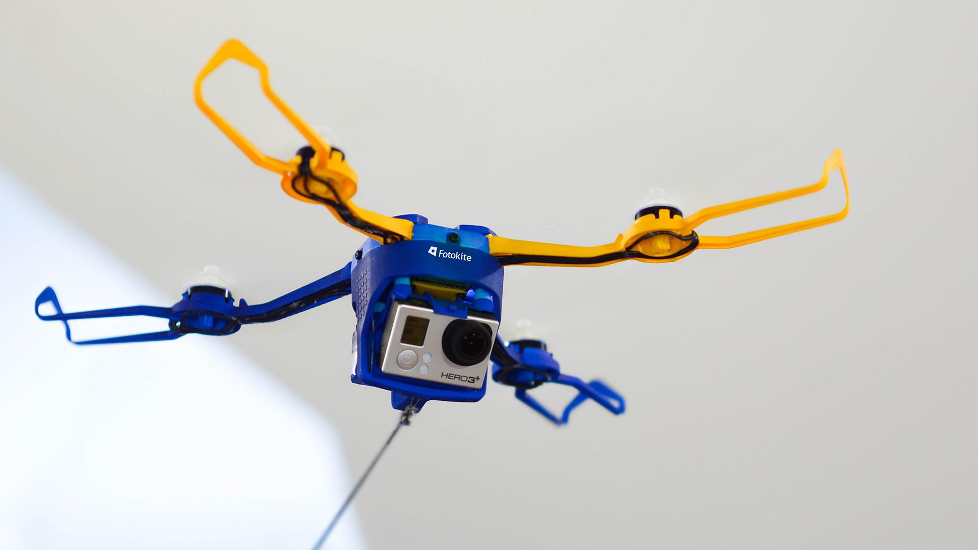 FotoKite Phi - A Leashed Drone