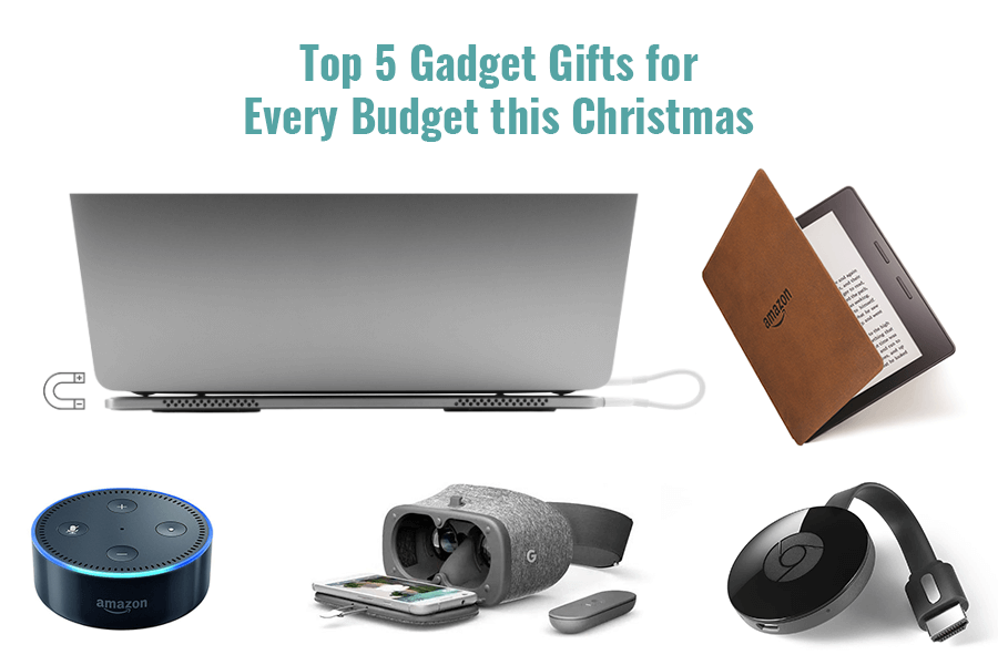 Top 5 Gadget Gifts for Every Budget this Christmas
