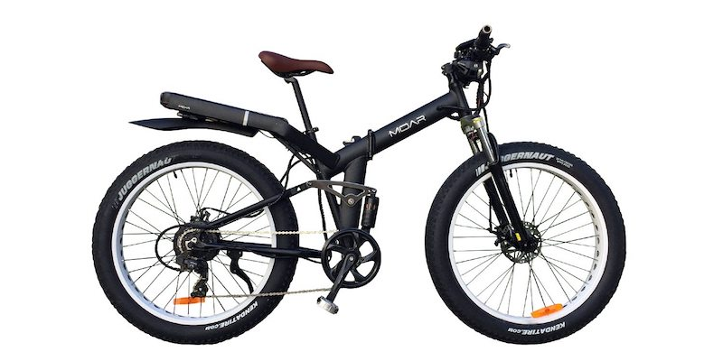 MOAR A Folding Frame, Fat Tire Ebike