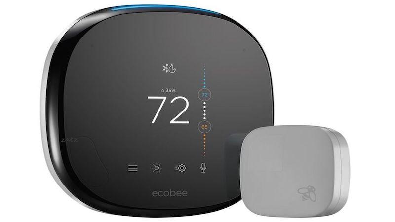 The Ecobee4 thermostat
