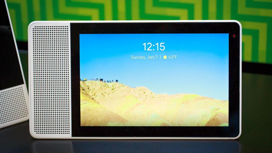 Lenovo Smart Display CES 2018