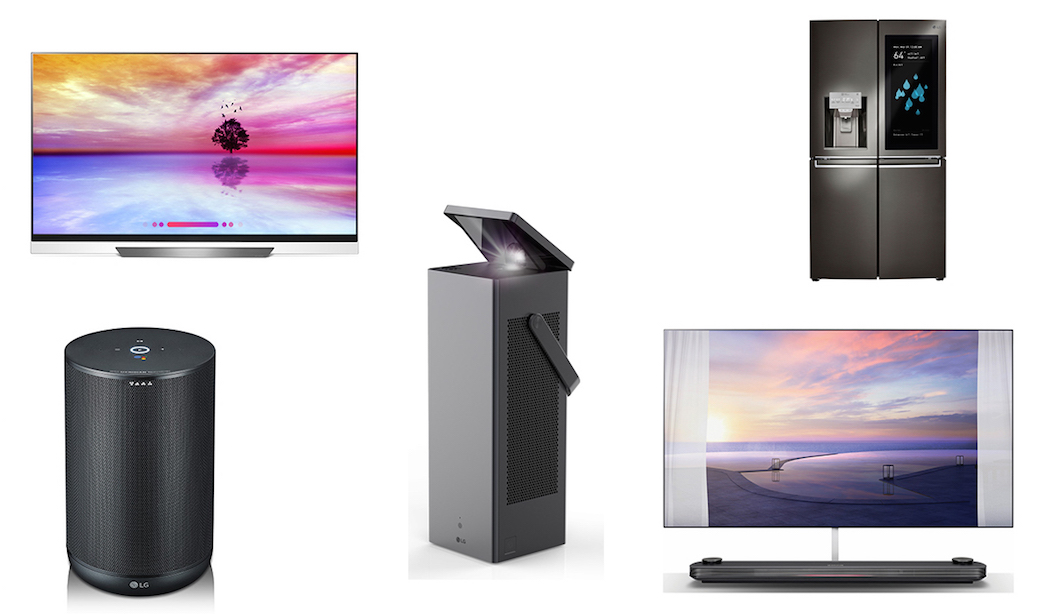 Top 5 Products by LG at CES 2018