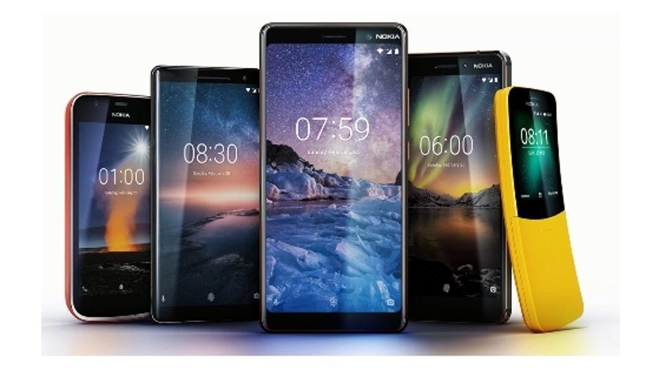 Top 5 Smartphones Launched by Nokia at MWC 2018