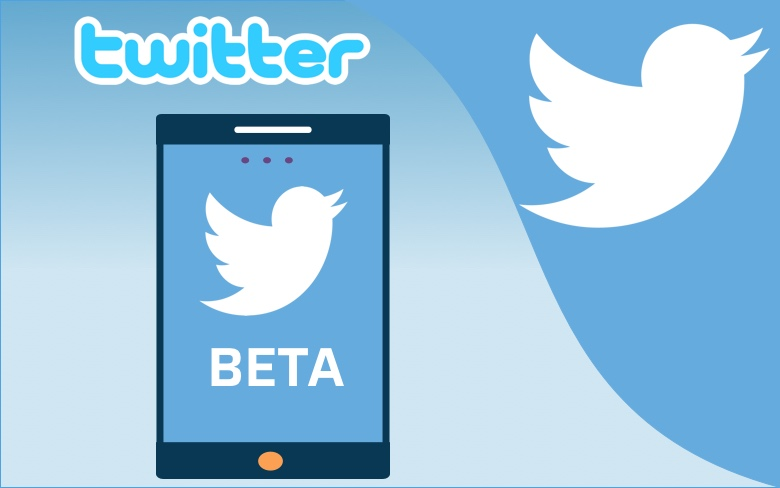 First Look of Twitter's New Beta App