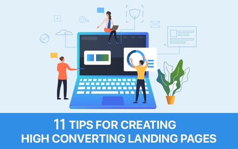11 Tips for creating a landing page